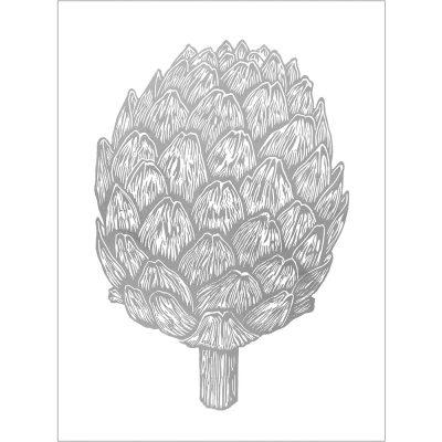 RGB silver artichoke