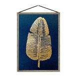 gold feather-blue A4