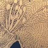lilje indigo detail