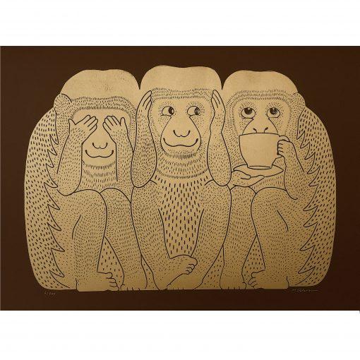 brown monkeys